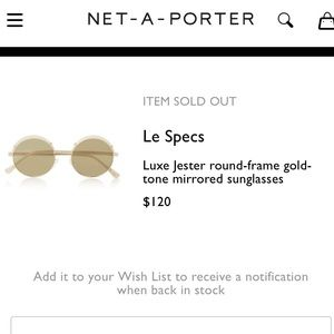 Le Specs Luxe Jester Mirrored Sunglasses